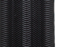 Redesigned tread with a pattern that emphasizes controllability